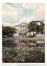 AK, Halle Saale, Theater des Friedens, 1955, früher DDR-Farbdruck