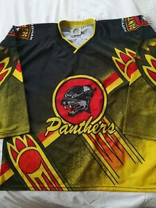 Nottingham Panthers ice hockey jersey shirt top adult Xl Rare vintage old school