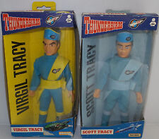THUNDERBIRDS : SCOTT TRACY & VIRGIL TRACY MATCHBOX ACTION FIGURES MADE IN 1994