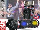 Bluetooth Wireless Party Speaker w/ Subwoofer Boombox LED USB FM Radio