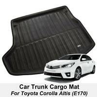 Fit For Toyota Corolla Altis 2014- Boot Mat Rear Trunk Liner Cargo Floor Tray