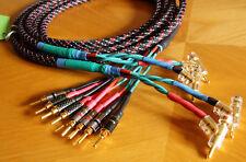 2x2,75 m bi-wire Sommer Cable SPM440 LS-kabel 4x4mm² +Rembus-Spreiz-Federstecker