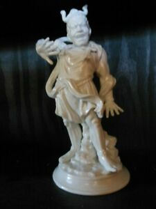Fitz and Floyd Vintage Chinese Warrior, Statue, Glazed Ceramic, Collectible