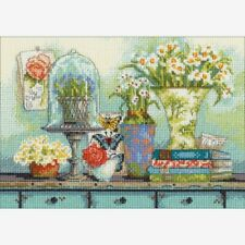 Dimensions Gold Collection Petites Counted Cross Stitch Kit Garden Collectibles