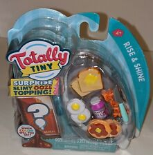 Totally Tiny Rise & Shine 9 Piece Mini Food Set Including Surprise Slimy Ooze