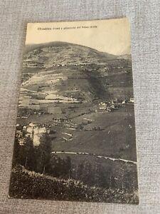 ETROUBLES Aosta Viaggiata 1923