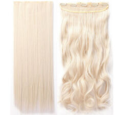 100% Natural Clip In Hair Extensions Real Thick 140G New For Human Hair Piece PN