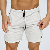 Summer Men Gym Sports Jogging Shorts Pants Trousers Casual beach Zipper Cool