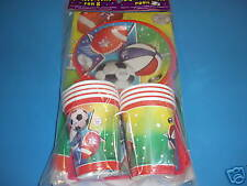 SPORTS SOCCER FOOTBALL Party Pack for 8