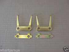 JAGUAR DAIMLER HAND BRAKE CALLIPER RETRACTION PLATE FORK LOCK TAB SET MK2 250 V8