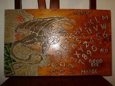 "hand made wooden ouija spirit talking board ""gargoyle"""