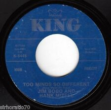 JIM BOBO & HANK MIZELL What Is Life Without You / Minds So Differ 45