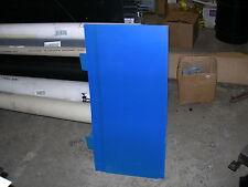 "BLUE STYRENE POLYSTYRENE PLASTIC SHEET .100"" THICK 12"" X 18"""