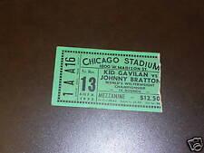 1953 GAVILAN / BRATTON WELTERWEIGHT CHAMPIONSHIP BOXING TICKET