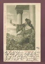 AUSTRIA 1900 PPC ARTIST W.GASSNER...LIEBFRAUENMILCH
