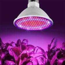 E27 LED lámpara luz crecimiento de plantas cultivo semillas de flores Luces Hidroponía Bombillas au