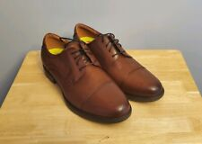 Florsheim Imperial Brown Leather Brogue Cap Toe Oxford Dress Shoes Mens Sz 11