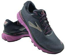 Brooks Adrenaline GTS 20 Womens Running Shoes Black Purple 6 WIDE 1202961D062