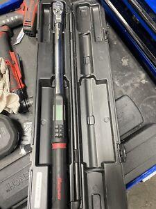"Snap On ATECH3FR250B 1/2"" Drive TechAngle Flex-Head Torque Wrench"