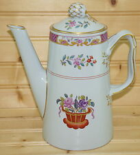 "Spode Lord Calvert Y5351 Coffee Pot with Matching Lid, 7"", 4 Cups"