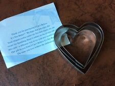 Advertising Cookie Cutter - I Can't Believe It's Not Butter - Heart Shaped NEW