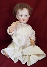 "Antique 16"" MORIMURA BROTHERS Japan CHARACTER BABY DOLL Bisque Head Comp Body"