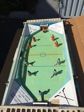 Table Out Top Ice Hockey Game, Electric Stimulator 25c Coin Operated 1950's