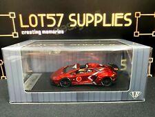 Impossible Perfect IP 1:64 LB Lamborghini Aventador LB700 Metallic RED 1 of 300