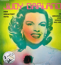 "LP 12"" 30cms: Judy Garland: her greatest hits. festival 2LP"