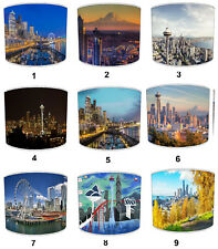 Ciudad De Seattle Pantallas Lámpara para Combinar Adhesivos Pared & Pegatinas