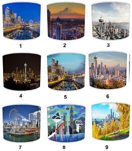 City Of Seattle Paralumi Ideale Per City Of Seattle Muro Decalcomania & Adesivi