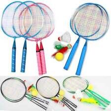 2pcs Badminton Rackets+3 x Ball Sports Cartoon Suit Toy for Youth Kids Children