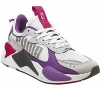 Mens Puma Rs-X Bold Trainers White High Rise Grey Royal Love Potion Trainers Sho