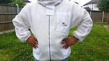 Ventilated beekeeping jacket beekeeper jacket Bee jacket with fencing veil-XL