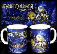 tazza mug music IRON MAIDEN live after death rock metal scodella ceramica