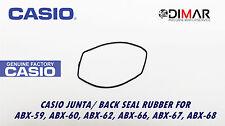CASIO GUARNIZIONE/ BACK SEAL RUBBER, PER MODELLI. ABX-59, 60, 62, 66, 67, 68