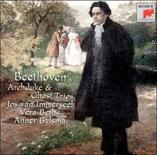 Beethoven: Archduke & Ghost Trios by Anner Bylsma -CD Brand New - Free Shipping
