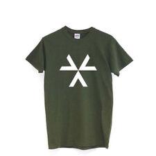 Magliette da uomo verde in misto cotone taglia L