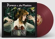 Florence + The Machine Lungs (Crimson Vinyl Ltd) Vinile Lp Colorato Nuovo