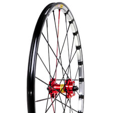"New Mavic CrossMax SLR 26"" QR Front Wheel Red Black Mountain Mtb Bike"