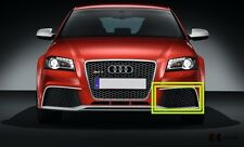 NEW GENUINE AUDI RS3 11-13 FRONT BUMPER LEFT N/S LOWER GRILL BLACK 8P0807681AJ