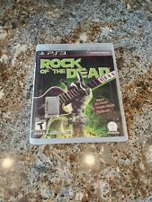 Rock Of The Dead -- Sony PlayStation 3 PS3 -- CONDITION B+