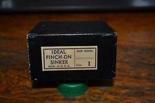Vintage Ideal Pinch On Sinker