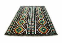 135x200 cm Orientalischer Teppich,Kelim,Carpet,Rug,Läufer,Damaskunst S 1-4-73 A