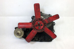Vintage Saab 95 96 Sonnet Ford Skidsteer V4 Timing Cover with Fan and Water Pump