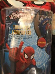 new Spiderman reversible comforter twin/full