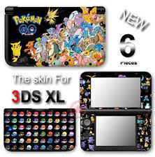 Pokemon Go Black Edition Skin Decal Sticker Gloss Cover #3 for Original 3DS XL