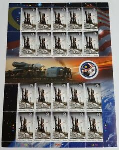 2008 Malaysia Space Rocket Angkasawan 30sen x20v Stamps Full Pane / Sheetlet