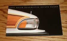 Original 1991 Buick Roadmaster Estate Wagon Foldout Sales Brochure 91