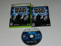 Rock Band Microsoft Xbox 360 Video Game Complete